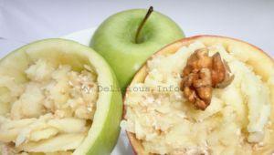 Закуска от ябълки и ядки