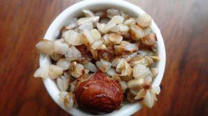 Buck-wheat nuts breakfast