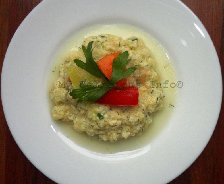 vegetable marrow cream
