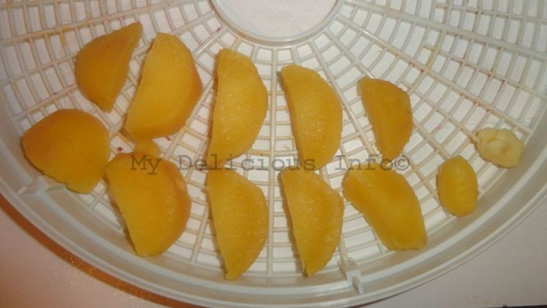 Dehydrating potatoes