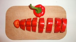 Dehydrating peppers