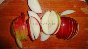 Dehyrdration of apples