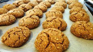 Buckwheat gluten free cookies