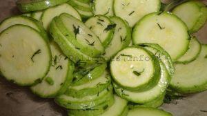Zucchini chips