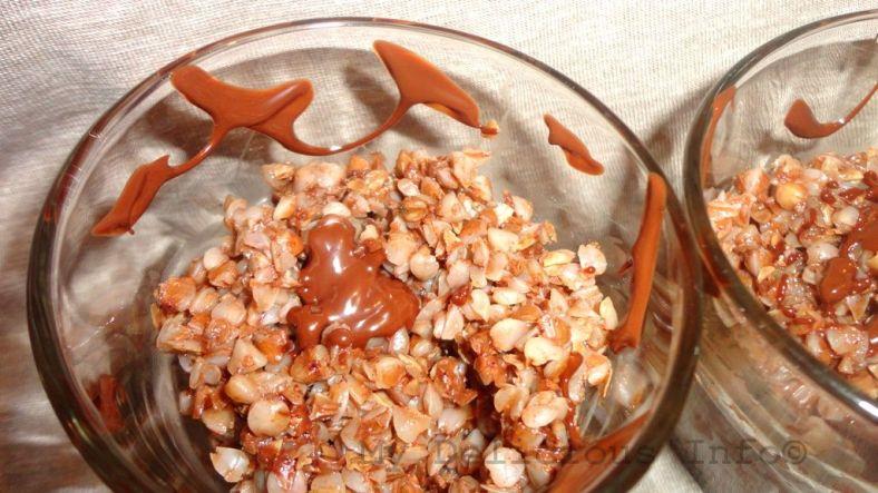 Buckwheat chocolate breakfast
