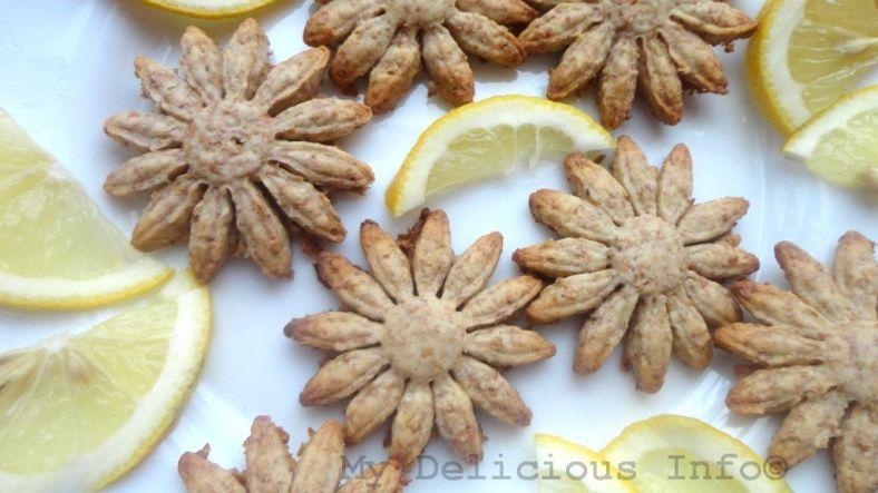 Homemade lemon sweets