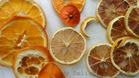 Dehydrating lemons oranges and mandarins