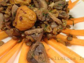 Italian lentil chestnut stew
