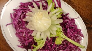 Onion chrysanthemum