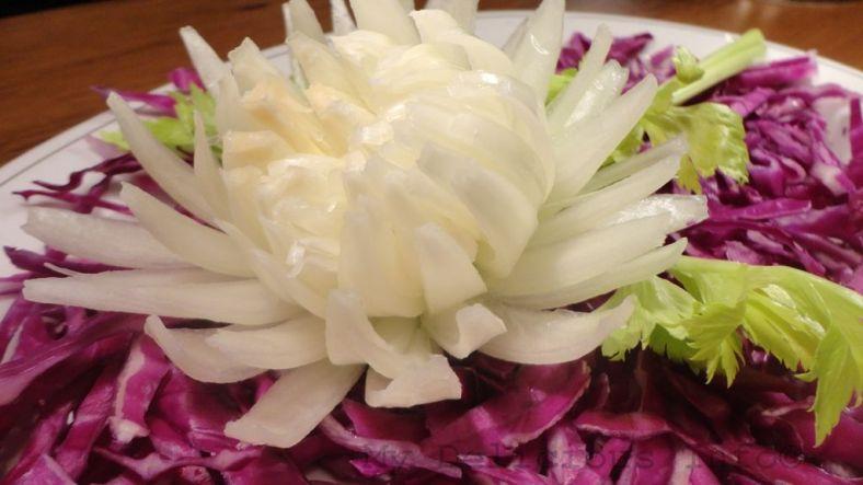 Onion chrysanthemum