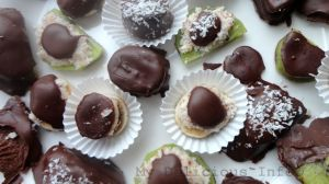 Chocolate fruits nuts bonbons