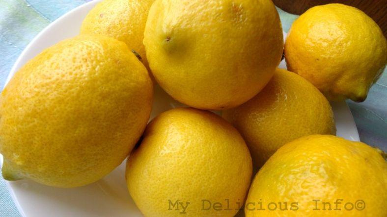 Lemon freezing