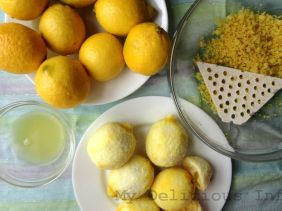 Lemon freezing