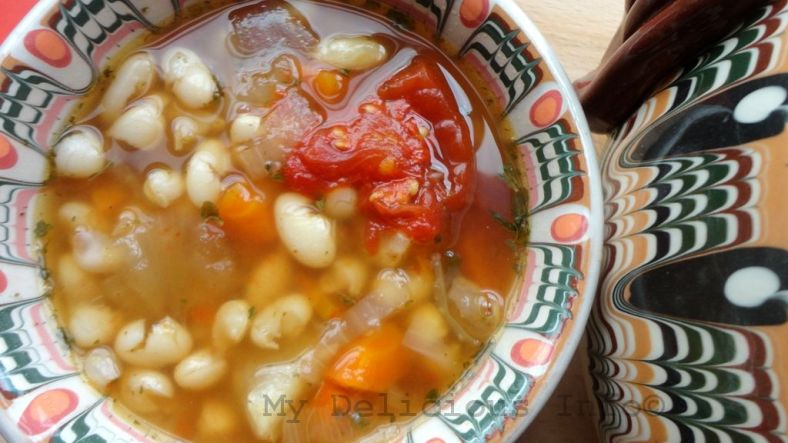 Monastery beans soup