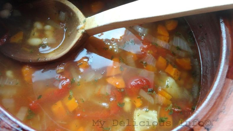 Monastery beans soup