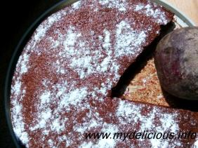 Beet Root Chocolate Orange Cake