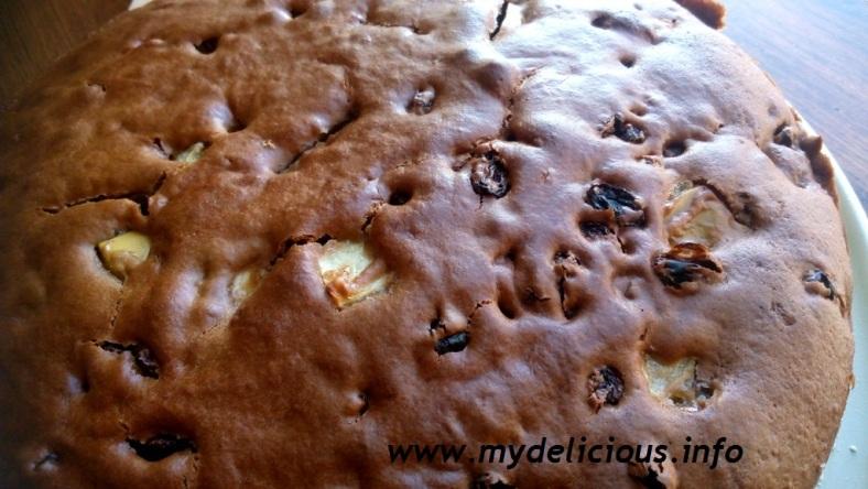Honey kiwi cake