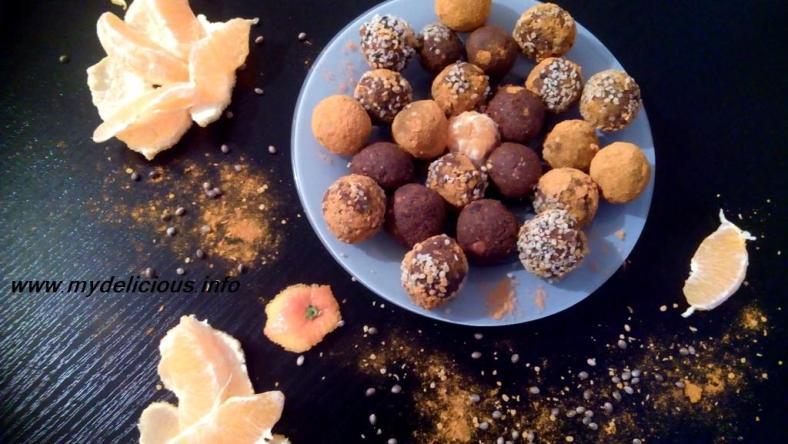 Turmeric truffles